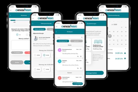 Beispiel-App des Patientenportals nach KHZG / Fördertatbestand 2
